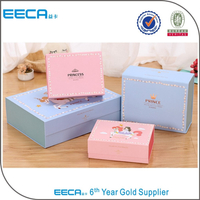 Custom Printed Apparel Gift Cardboard Magnetic Foldable gift Carton Boxes with Hot Stamping color packaging box in EECA Packaging China