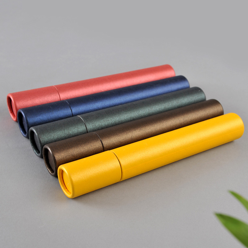 Cylindrical box Custom colorful printed paper cardboard round tube gift hat box wholesale in EECA China